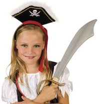 serre tete pirate girl