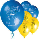 8 ballons toy story