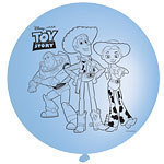 4 ballons punchball toy story