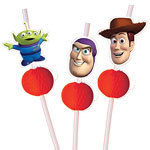 6 pailles toy story