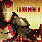 20 serviettes iron man