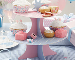 stand à cupcake baby shower