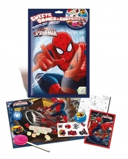 pochette surprise spiderman