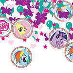 confettis de table petit poney