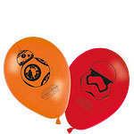 8 ballons star wars the force