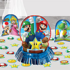 3 centres de table Mario