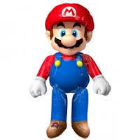 ballon airwalker mario bross