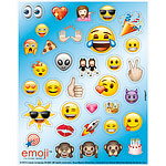4 planches de stickers emoji