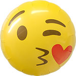 ballon emoji kiss