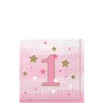 16 serviettes little star 1an