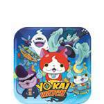 8 assiettes yo-Kai watch 18cm