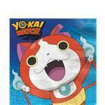 16 serviettes yo-kai watch