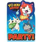 8 invitations yo-kai watch