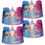 8 couronnes shimmer and shine