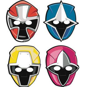 8 masques power rangers easy kids anniversaire - Masque de power rangers ...