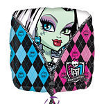 ballon hélium monster high