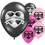6 ballons monster high