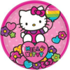 8 assiettes hello kitty