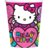 8 gobelets hello kitty