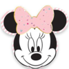 4 assiettes minnie