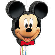 grand pack anniversaire mickey pinata