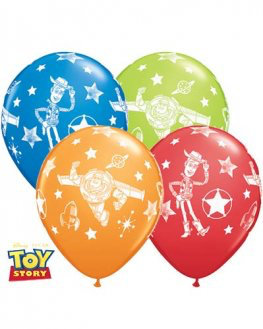 6 ballons toy story