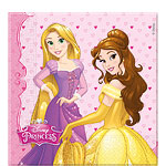 20 serviettes princesses disney