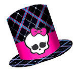 8 chapeaux haut de forme monster high