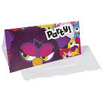 6 cartes d'invitation furby