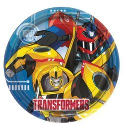 8 assiettes transformers