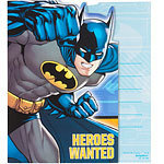 8 invitations batman