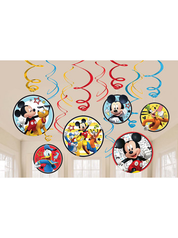 12 suspensions mickey mouse