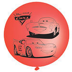4 ballons punching ball cars