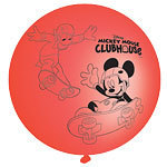 4 ballons punching ball mickey