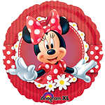 ballon hélium minnie