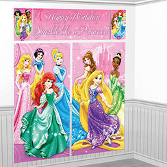 decoration murale princesse disney