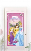 decoration de porte princesse disney