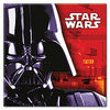 20 serviettes star wars dark vador