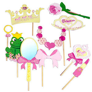 photo booth princesse easy kids anniversaire. Black Bedroom Furniture Sets. Home Design Ideas