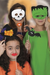 photo booth halloween