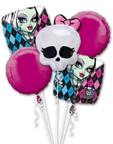 bouquet de ballon monster high