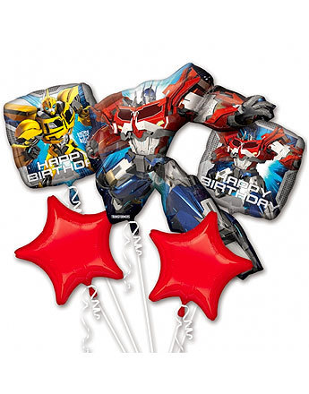 bouquet de ballon transformers