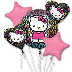 bouquet de ballon hello kitty