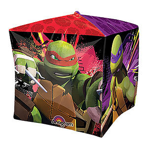 ballon cube tortues ninja