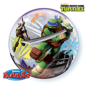 ballon bulle tortues ninja