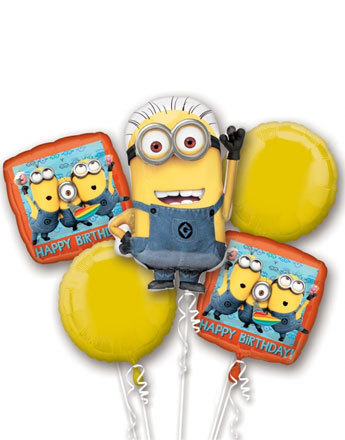 bouquet de ballon minion