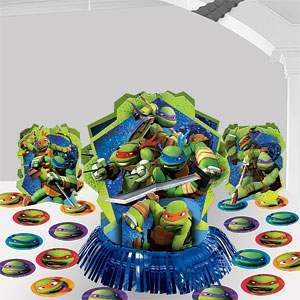 centre de table tortue ninja