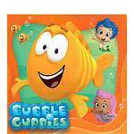 8 serviettes bubulle guppies