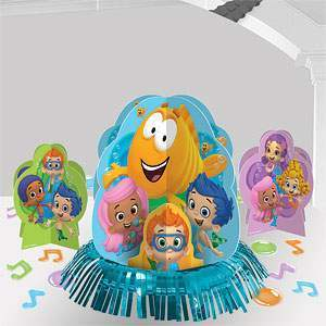 centre de table bubble guppies