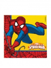 16 serviettes spiderman